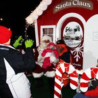 Gering's Christmas Holiday Parade and Santa's Village Kick-Off