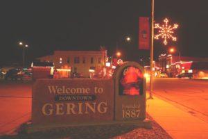 Downtown Gering Christmas Holiday Parade & Santa's Village